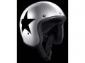 Helm BANDIT JET STAR silber