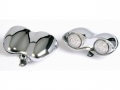 LED-Blinker & Rücklicht-Set Doppeloval