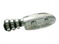 LED-Blinker TWIN chrom