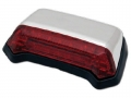 LED-Rücklicht FENDER chrom/rot