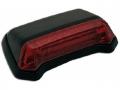 LED-Rücklicht FENDER schwarz/rot