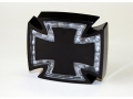 LED-Rücklicht GOTHIC schwarz