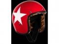 Helm BANDIT JET STAR rot