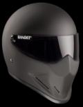 Helm BANDIT CRYSTAL schwarz-matt