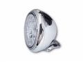LED-Scheinwerfer HD-STYLE chrom
