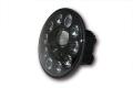 LED-Scheinwerfereinsatz, schwarz