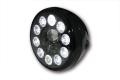 LED-Scheinwerfer RENO schwarz/schwarz