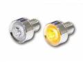 LED-Blinker MONO chrom