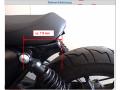Rahmenheck-Umbau mit CH-Papiere Moto Guzzi V7